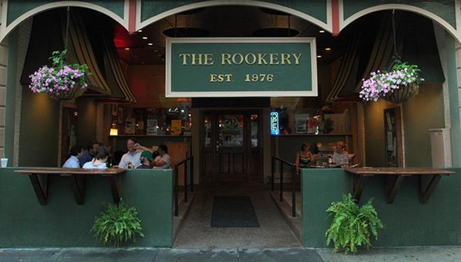 Macon Georgia restaurant the Rookery Burgers