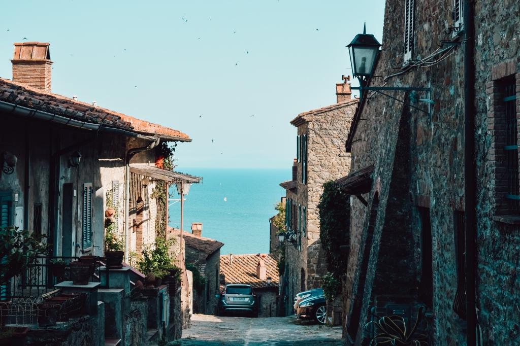 castiglione della pescaia Italian fishtown and resort