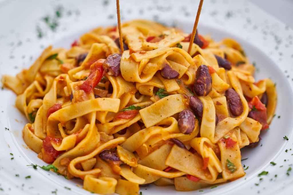 Siena Italy Pasta